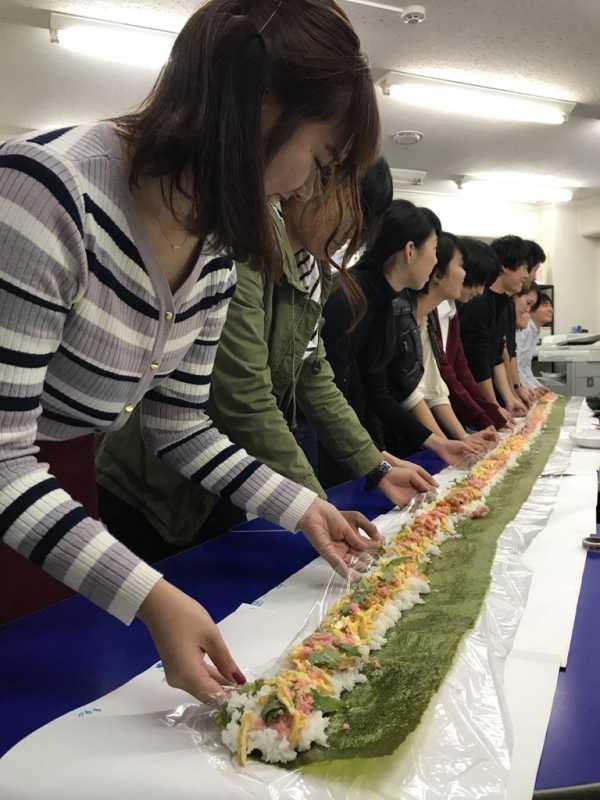 【はましあい】4580(ヨコハマ)mm巻き寿司を作りました!